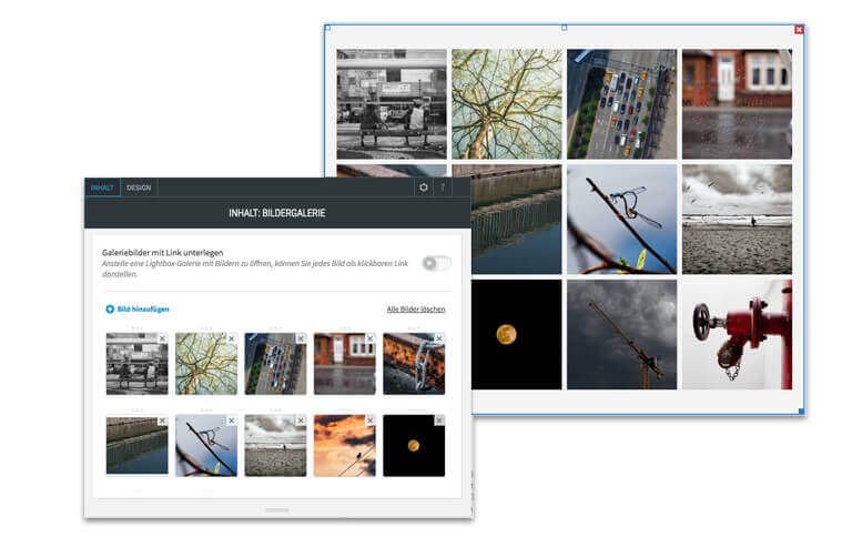 Website Builder, Template for Photographers-Website