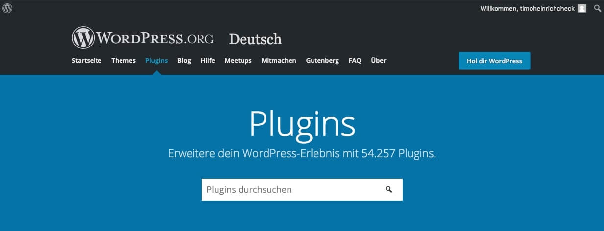 Over 54,000 plugins already available