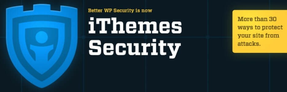 iThemes Security improves your WordPress security